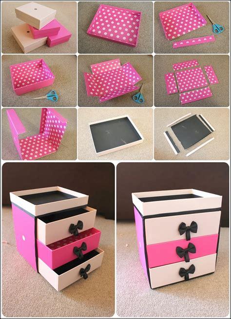 classy storage drawer box  easy paper craft