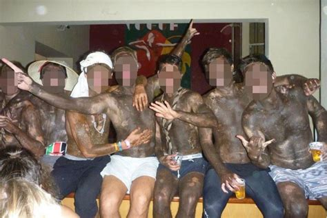 notorious college students  dressing   blackface