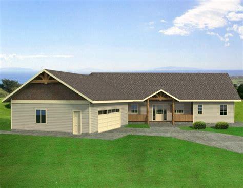 3 Bedroom, 3 Bath Ranch House Plan   #ALP 05A9   Allplans.com