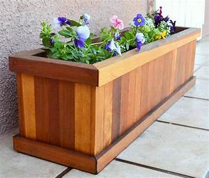 27, To, 44, Redwood, Planter, Boxes, For, Windows