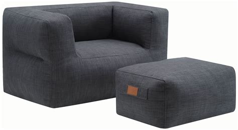 grey chair and ottoman grey ottoman and chair 904011 coaster furniture