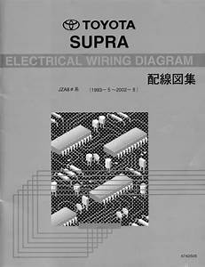 Exclusive  Jdm Supra  Jza80 Mkiv  Wiring Diagrams