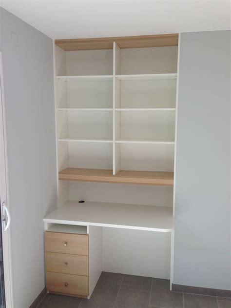 espace bureau dans salon coin bureau dans une niche pour une optimisation de l