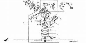 Honda Hrc215k1 Sda Lawn Mower  Usa  Vin  Mzau