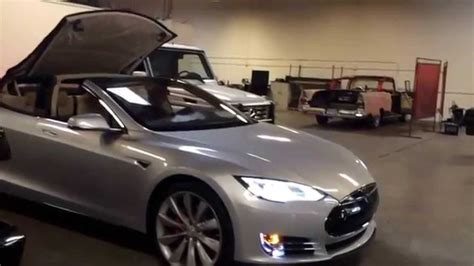 tesla convertible mercedes  wagon convertible range