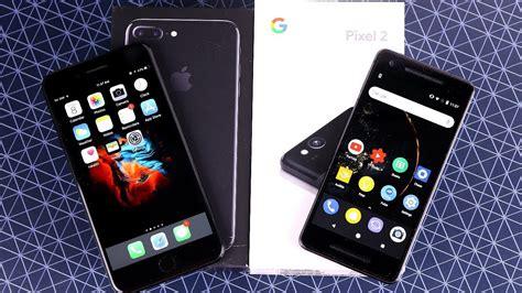 iphone 7 plus vs pixel 2
