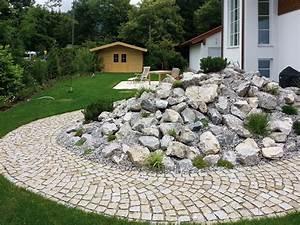 Große Steine Für Steingarten : ac gartengestaltung m nchen mauern steine ~ Michelbontemps.com Haus und Dekorationen