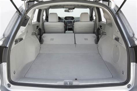acura rdx cargo space  news wheel