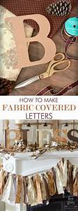 best 25 fabric covered letters ideas on pinterest sofa With how to cover cardboard letters with fabric