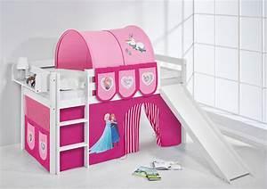 Hochbett Kinder Mit Rutsche : spielbett hochbett kinderbett kinder bett jelle mit rutsche 190x90 cm vorhang ebay ~ Indierocktalk.com Haus und Dekorationen