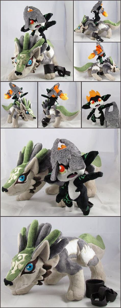 The Legend Of Zelda Twilight Princess Wolf Link And Midna