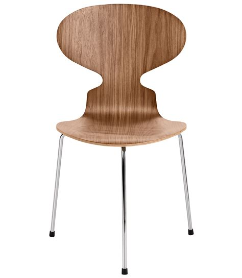 Arne Jacobsen Ameise by The Ant Chair 3 Legs Clear Lacquer