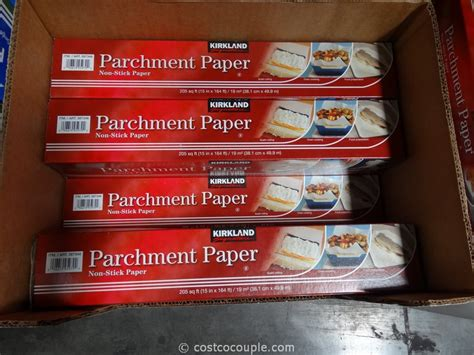 parchment paper kirkland signature costco ways many costcocouple sewing brother