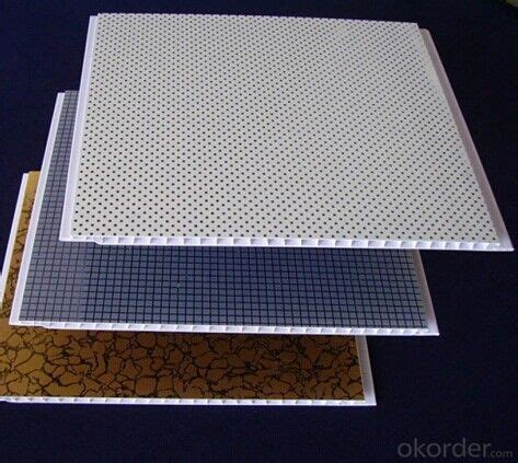 buy suspended pvc ceiling panel fireproof heat insulation