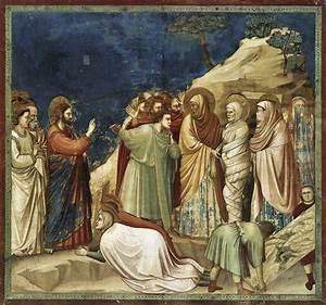 Raising of Lazarus, c.1304 - c.1306 - Giotto - WikiArt.org