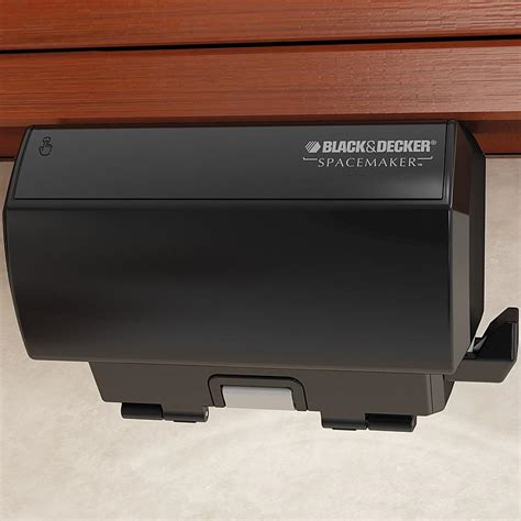 black and decker under cabinet can opener black decker spacemaker under the cabinet black can opener