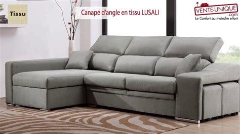 vente de canapé vente canape angle idées de décoration intérieure