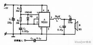 Using Ne555 Skillfully As Audio Power Amplifier Circuit