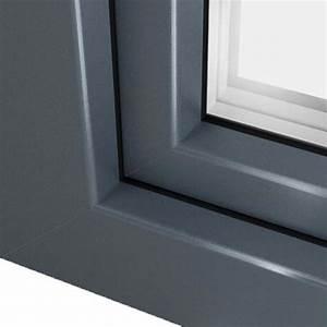 Fenetre Pvc Gris : fen tre pvc gris basalte ral 7012 couleur fen tre l gante ~ Premium-room.com Idées de Décoration