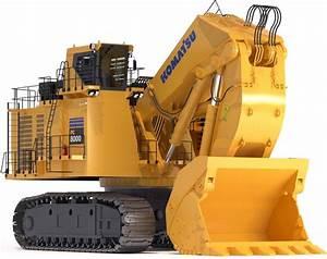Komatsu Hydraulic Mining Shovel  Hydraulic Pc5500  Pc8000