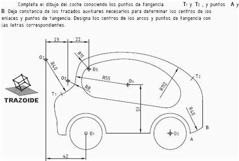 Barco Dibujo Tecnico by Tangencias Coche Trazoide