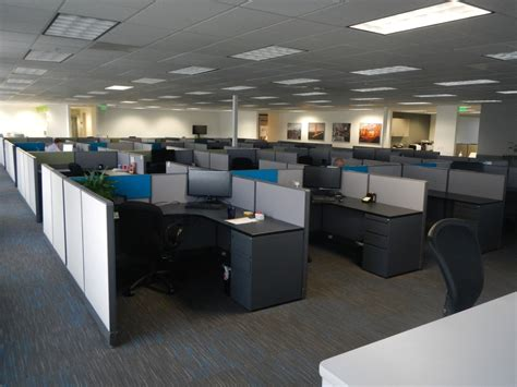 Office Space Knocking Cubicle by Typical Cubicle Floor Plans Eco Office