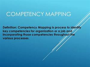 Cpm ppt Competency Definition