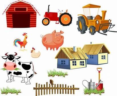 Cartoon Farming Tool Farm Ai Graphic Cow