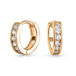 tiny engagement ring gold vermeil small cz huggie sterling silver hoop earrings