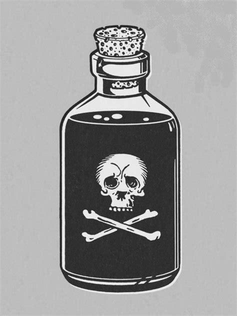 Love Poison Bottle Tattoo Drawing » Tattoo Ideas