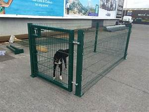Dog runs pens and cages for Dog run cage enclosure