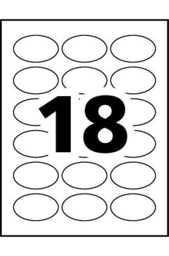 avery template 22804 avery 174 print to the edge oval labels 22804 template 18 labels per sheet