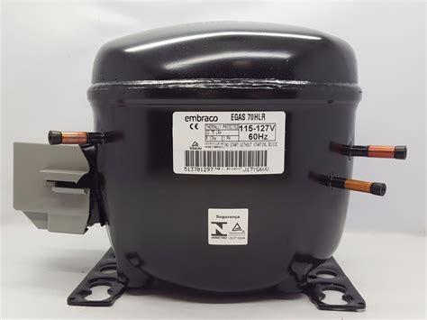 compressor embraco 1 5 127v motor freezer geladeira duplex r 460 00 em mercado livre