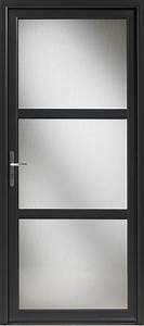 porte interieur vitree noire chaioscom With porte d entrée alu avec revetement mural de salle de bain