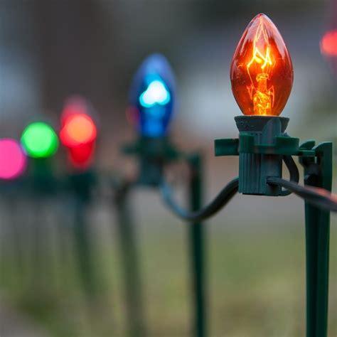 christmas lights  multicolor christmas pathway lights