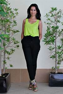 Black and Neon outfits - Beautylab.nl
