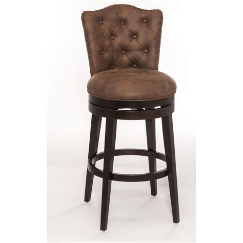 Hocker Drehbar by Hillsdale Wood Stools Swivel Bar Stool With Upholstered