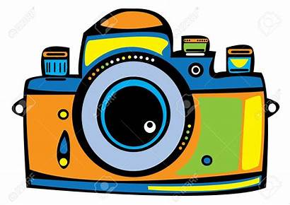 Camera Clipart Colored Webstockreview