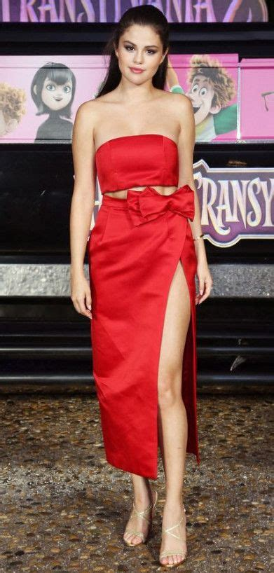 53 Ideas Dress Red Party Selena Gomez | Red dress, Red ...