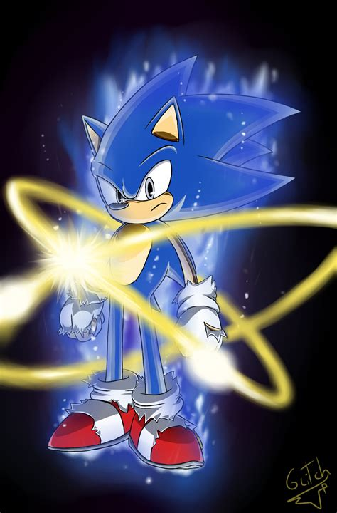 sonic ultra instinct by glitchedvercius on deviantart