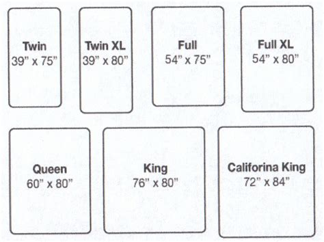 size blanket dimensions in cm mattress sizes chart deal