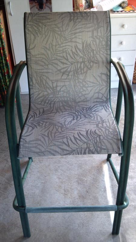 Pvc Patio Chair Replacement Slings by How To Install Replacement Wrap Vinyl Straps On