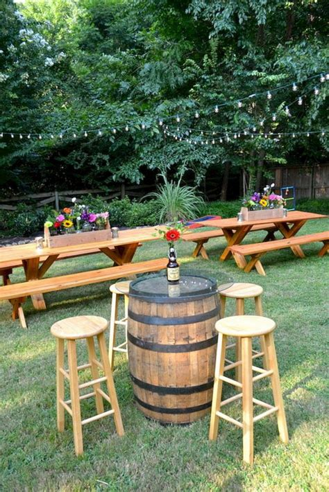 intimate backyard outdoor wedding ideas deer pearl