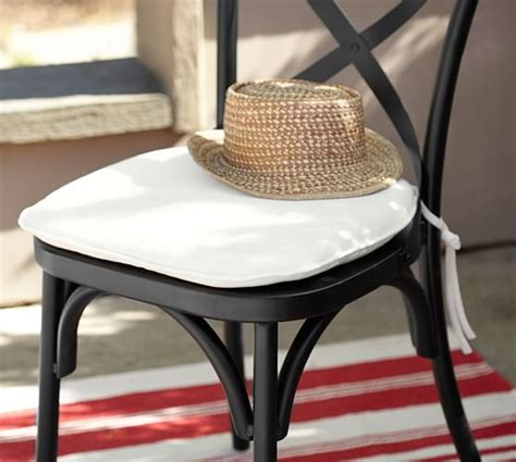 sunbrella 174 bistro chair barstool cushion pottery barn