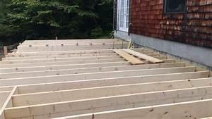 Floor Joists And Rim Joist Layout - Addition Build