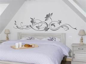 schlafzimmer selber gestalten wandtattoo selber gestalten herausforderung oder