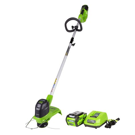 trimmer battery string weed eater cordless greenworks operated wacker 40v max powered edger worx volt mower inch amazon mini money