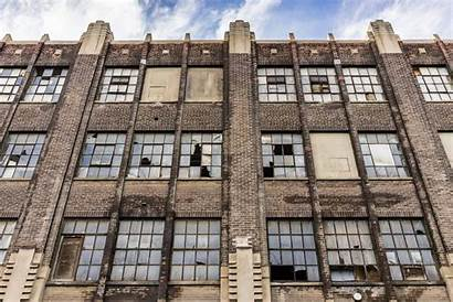 Building Facade Industrial Distressed Properties Abandoned Money