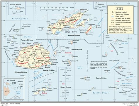 maps  fiji map library maps   world