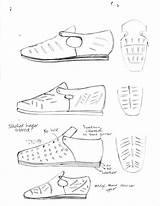 Shoe Loafer Sketches Renaissance Virginia Fugly Became Gorgeous Toe Slashing Shapes Various Patterns Designs sketch template
